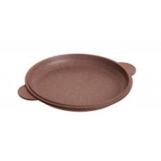 Крышка-сковорода Ø 24 см Коричневый мрамор